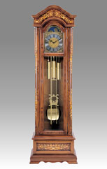 floor clock Art.524/2 walnut root inaly