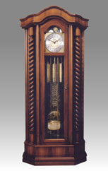 floor clock Art.527/1 walnut