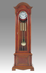Grandfather Clock 537 maple root and cherry