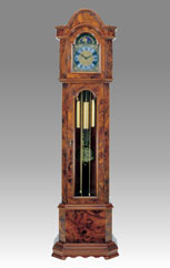 floor clock Art.539/2 briar of walnut