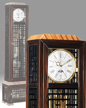 Mechanical grandfather clock; Floor Clock; Curio Clock; Standing Clock