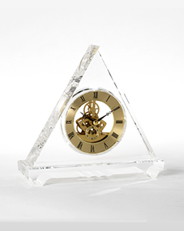 Crystal Clock, Crystal Battery Clock, MEchanical Crystal Clock, Skeleton Clock, Square crystal clock, Triangular crystal clock, Rectangular crystal clock, moon crystal clock, oval cristal clock, trapezioidal crystal clock, atomic clock, tower clock, electronic clock, electric clock, trasparent clock